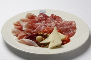 Selection of Italian Salami and Cold Cuts